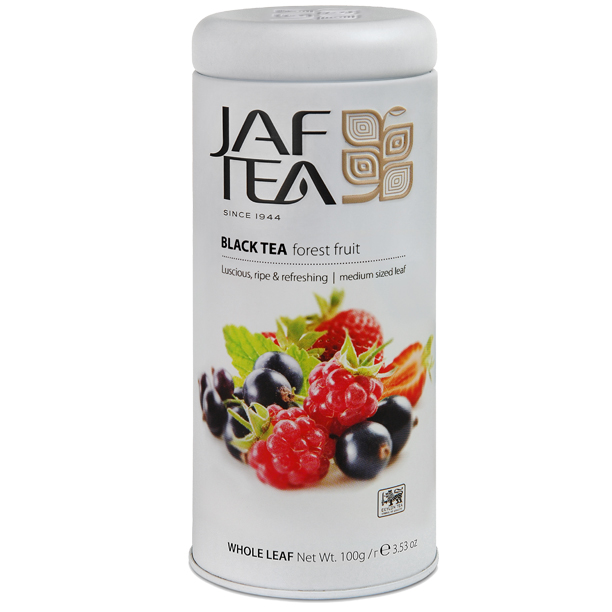 Чай черный лист. JAF TEA Forest Fruit PC 100Г в ж/б