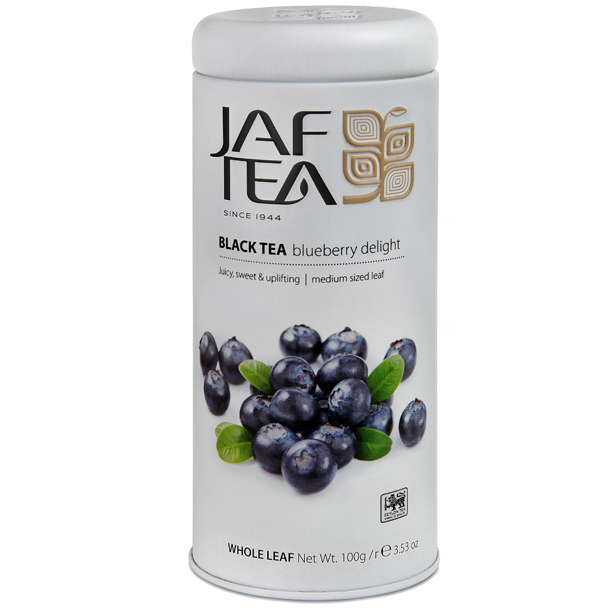 Чай черный лист. JAF TEA Blueberry Delight PC 100г в ж/б