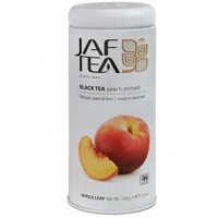 Чай черный лист. JAF TEA Peach Orchard PC 100г в ж/б