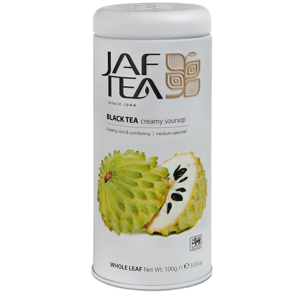 Чай черный лист. JAF TEA Creamy Soursop PC 100г в ж/б