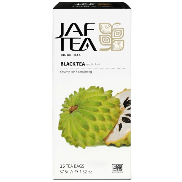 Чай черный пакет. JAF TEA Exotic Fruit PC 25*1,5г