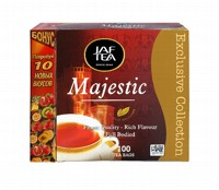 Чай черный пакет. JAF TEA Majestic EC 110*2г