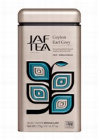 Чай черный лист. JAF TEA Earl Grey CG 175г в ж/б