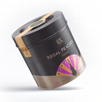 Чай черный лист. JAF TEA Regal Peacock Pekoe RP 250г в ж/б