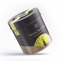Чай черный лист. JAF TEA Regal Peacock Creamy Soursop RP 180г в ж/б