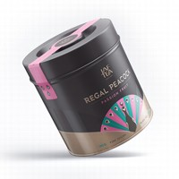 Чай черный лист. JAF TEA Regal Peacock  Passion Fruit RP 180г в ж/б