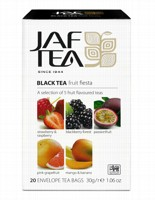 Чай черный пакет. JAF TEA Fruit Fiesta PC 20*1,5г