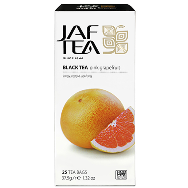 Чай черный пакет. JAF TEA Pink Grapefruit PC 25*1,5г