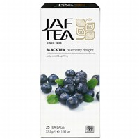 Чай черный пакет. JAF TEA Blueberry Delight PC 25*1,5г