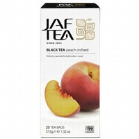 Чай черный пакет. JAF TEA Peach Orchard PC 25*1,5г