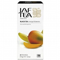 Чай черный пакет. JAF TEA Mango Banana PC 25*1,5г