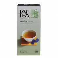 Чай зеленый пакет. JAF TEA Earl Grey SC 25*2г