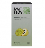 Чай зеленый пакет. JAF TEA Exotic Fruit SC 25*2г
