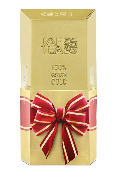 Чай черный лист. JAF TEA Golden Brick CC 60Г в Ж/Б