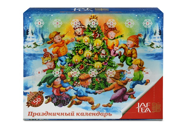 Чай ассорти пакет. JAF TEA Celebration Calendar CC 98Г